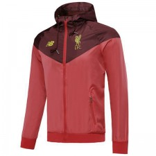 Liverpool Windbreaker Hoodie Sweater Jacket Red Soccer Coat 2019-2020