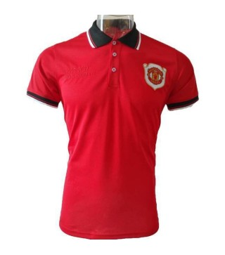 Manchester United 20th Anniversary Red Polo