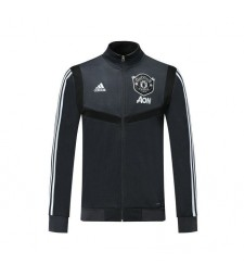 Manchester United Dark Gray Soccer Jacket 2019-2020