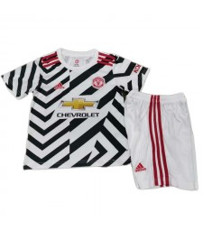 Manchester United Third Kid Kit Soccer Jersey ootball Shirt 2020-2021