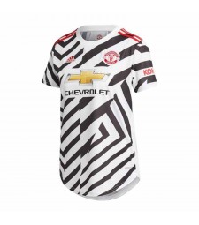 Manchester United Third Female Soccer Jersey Women Football Shirt 2020-2021