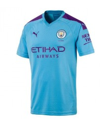 Manchester City Football Home Soccer Jersey 2019-2020