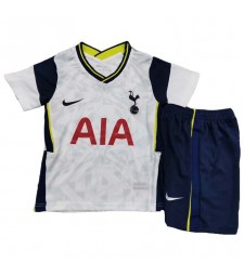 Tottenham Hotspur Home Soccer Jerseys Kids Kit Football Shirts Uniforms 2020-2021