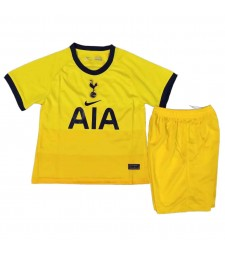 Tottenham Hotspur Third Soccer Jerseys Kids Kit Football Shirts Uniforms 2020-2021