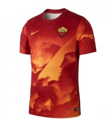 As Roma Pre-match Training Jersey Mens Soccer Shirt 2019-2020