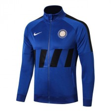 Inter Milan Royal Blue Long Zipper High Neck Jacket 2019-2020