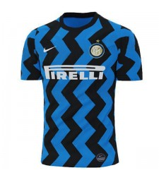 Inter Milan Home Soccer Jersey Mens Football Shirt 2020-2021