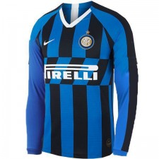 Inter Milan Home Long Sleeves Soccer Jersey 2019-2020