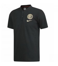 Inter Milan Polo Jersey Blue Mens Shirt 2019-2020