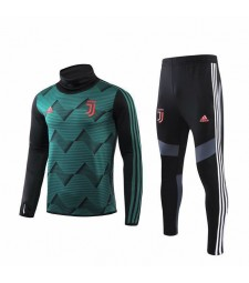 Juventus Green High Neck Soccer Tracksuit 2019-2020