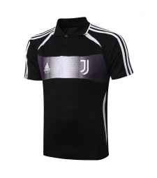 Juventus X Palace Black Special Version Training Polo 2019-2020