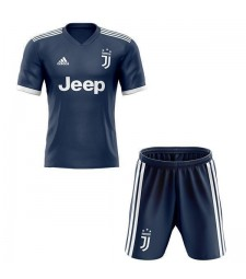 Juventus Away Kids Kit Soccer Children Football Match Youth Uniforms 2020-2021
