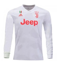Juventus Away Long Sleeves Soccer Jersey 2019-2020