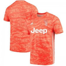 Juventus Goalkeeper Jersey Mens Orange Red Soccer Shirt 2019-2020