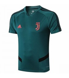 Juventus Training Jersey- Mens Soccer Shirt Dark Green 2019-2020