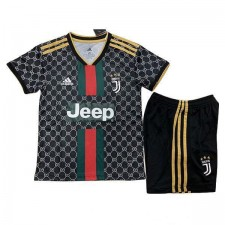 Juventus x Gucci Kid Football Kit Special Edition 2019-2020 Black