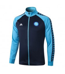 SSC Napoli Royal Blue Jacket Light Blue Sleeves 2019-2020
