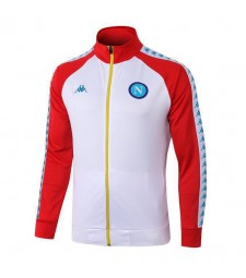 SSC Napoli White Jacket Red Sleeves 2019-2020