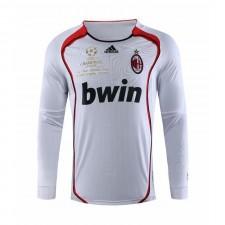 AC Milan Retro Long Sleeve Champions League Version Soccer Jerseys 2006-2007