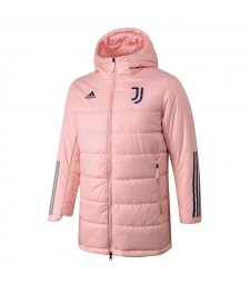 Juventus Winter Jacket Pink Cotton Coat 2020-2021