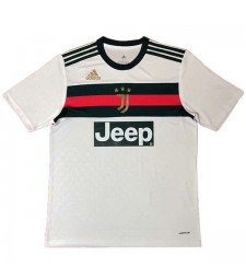 Juventus X Gucci White Soccer Jerseys Mens Football Shirts Uniforms 2020-2021