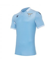 Lazio Home Soccer Jerseys Mens Football Shirts Uniforms 2020-2021