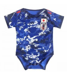 Japan Home Euro Cup 2020 Baby Onesie Jersey