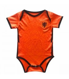 Netherlands Home Euro Cup 2020 Baby Onesie Jersey