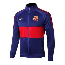 Barcelona Royal Blue High Necked Jacket 2019-2020