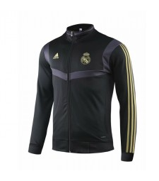 Real Madrid Black Training Jacket 2019-2020