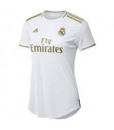 Real Madrid Home Women Soccer Jersey 2019-2020