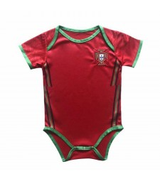 Portugal Home Baby Onesie Jersey Jumpsuit 2020-2021