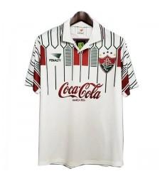 Retro Fluminense Away Soccer Jerseys Mens Football Shirts Uniforms 1989-1990