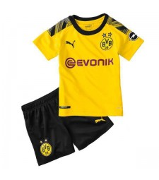 Borussia Dortmund Home Kids Kit 2019-2020