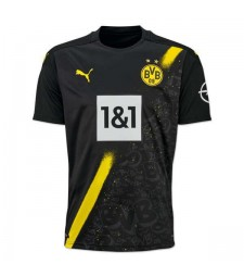 Borussia Dortmund Away Soccer Jersey Football Uniforms 2020-2021
