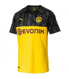 Borussia Dortmund Home Shirt Champions League Mens Jersey 2019-2020