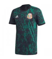 Mexico Home Pre-match Soccer Jersey 2020-2021