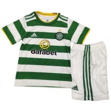 Celtic Home Soccer Jersey Kids Kit Football Youth Uniforms 2020-2021