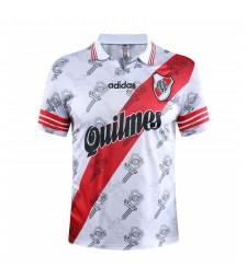 River Plate Home Retro Soccer Jerseys Mens Football Shirts 1996