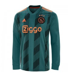 Ajax Away Long Sleeves Jersey Mens  Football Shirt 2019-2020