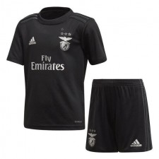 Benfica Away Soccer Jersey Kids Kit Football Youth Uniforms 2020-2021