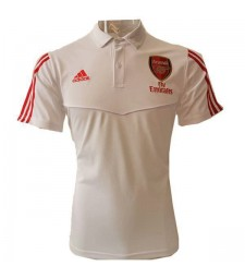 Arsenal Polo Jersey Mens Football Training Jersey White Soccer Teal Sportwear T-shirt 2020
