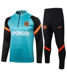 Chelsea Grass Green Soccer Tracksuit Mens Football  Uniforms 2021-2022