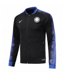 Inter Milan Black Printed Sleeve Jacket 2018/2019