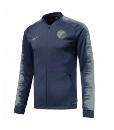 Inter Milan Blue Printed Sleeve Jacket 2018/2019