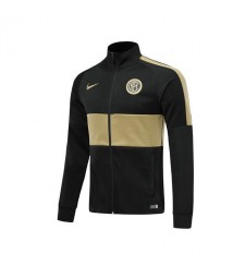 Inter Milan All Zip Black Gold Jacket 2019-2020