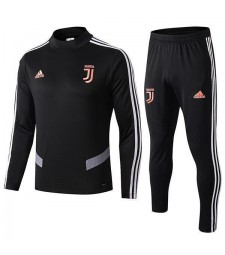 Juventus Tracksuit Soccer Black Football Training Jersey 2019-2020