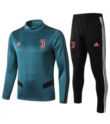 Juventus Tracksuit Soccer Dark Green Football Training Jersey 2019-2020