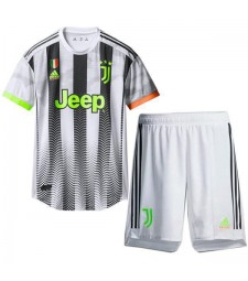Juventus X Palace Fourth Kids Kit Soccer Jersey 2019-2020